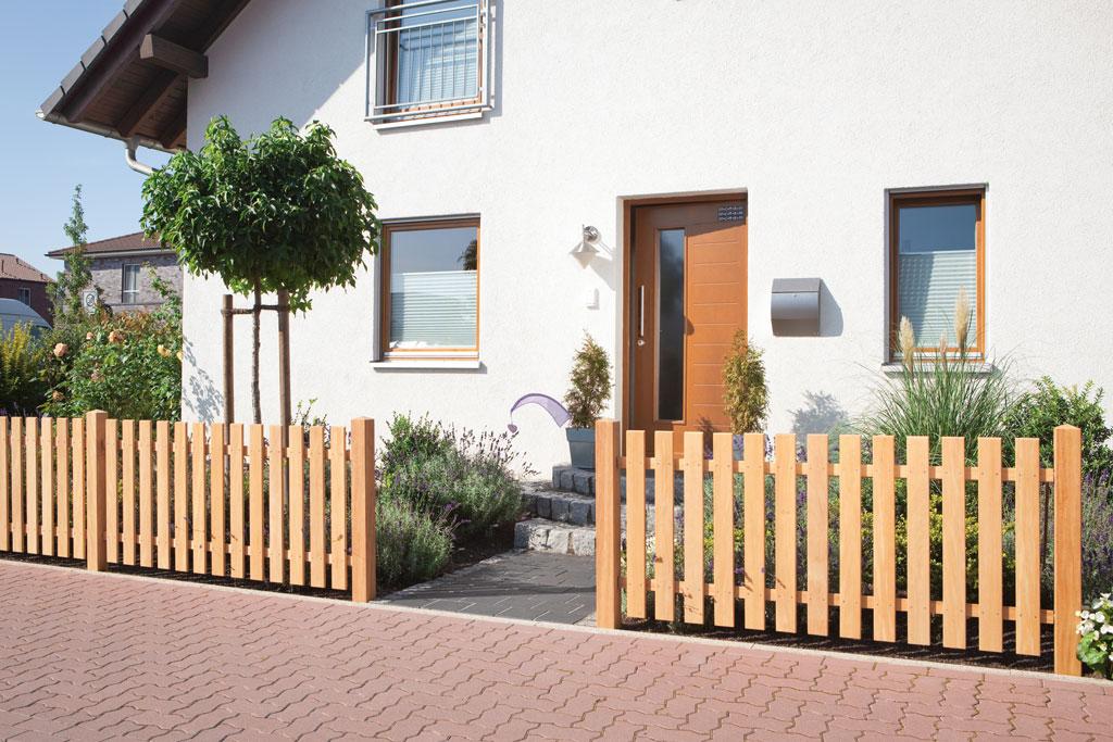 Kaufen Sie Vorgartenzaune Im Holz Fachmarkt Holzl