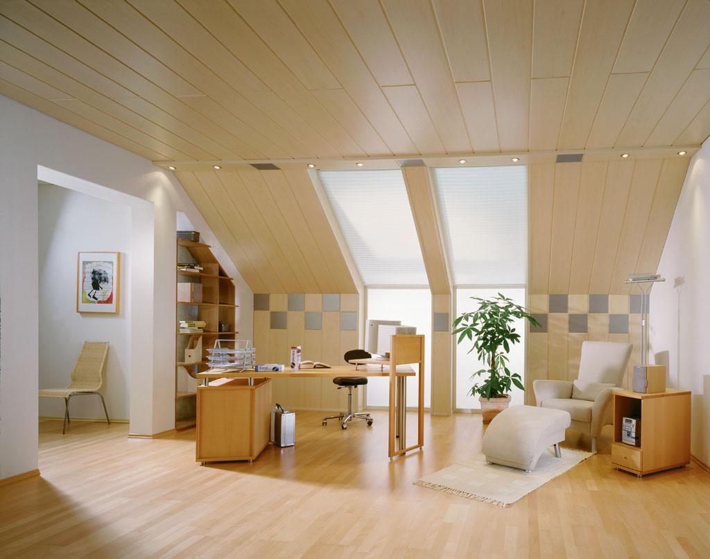 Wand und Decke stilvoll gestalten mit Holzpaneelen
