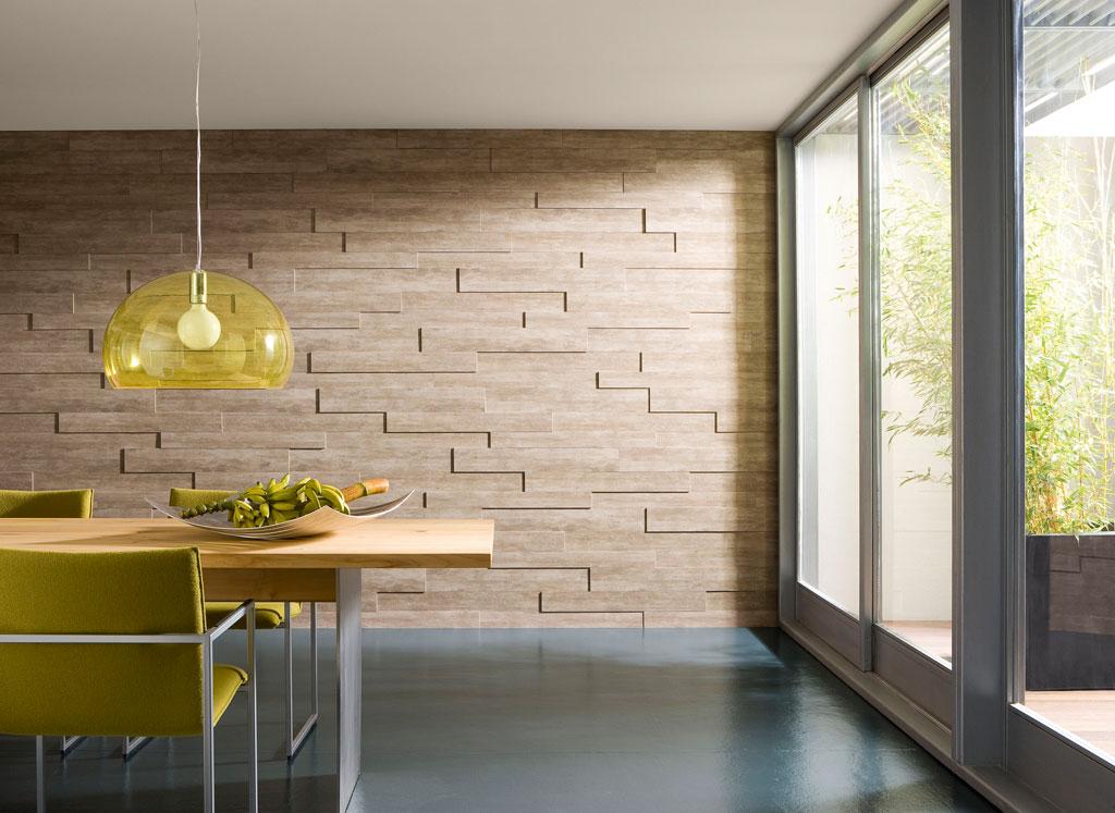 Wand und decke stilvoll gestalten mit holzpaneelen - Wand mit bildern gestalten ...